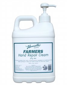 Henrietta 180 Farmers Hand Repair Cream 2KG Pump Pack Single