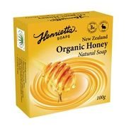 Henrietta 302 Organic Honey Soap Bar 100g EDTA Free Single Bar