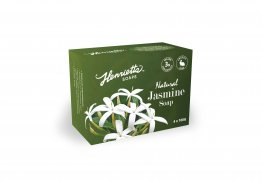 Henrietta 304 Jasmine Oatmeal Soap 100g Hydrating and Calming 4 Pack
