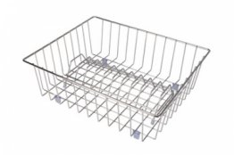 Hafele Wire Draining Basket Stainless Steel 2 Piece Set