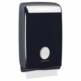Kimberly Clark Aquarius 70007 Hand Towel Dispenser Compact Black ABS Plastic