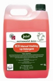 Jasol Environmental 2002040 ECO Manual Washing Up Detergent Carton (3 x 5L)