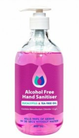 Best Buy 972 Alcohol Free Hand Sanitiser 500ML Pink