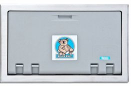 Koala Kare KB100 Baby Change Table Horizontal Grey/Stainless Steel