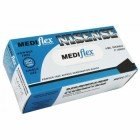 Mediflex Nisense NSPF-XL Disposable Gloves, Powder Free, Nitrile, Extra Large Single Box (100pcs)