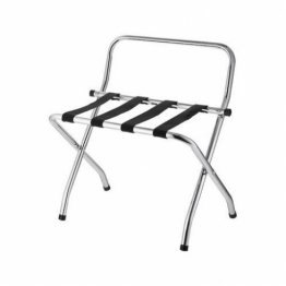 Best Buy Hospitality RACK-CR Luggage Rack Chrome